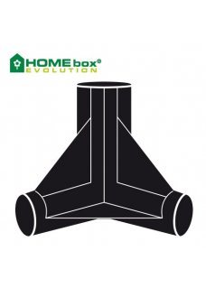 3-Wege-Eckverbinder HOMEbox Spare Parts 22mm 2Stk