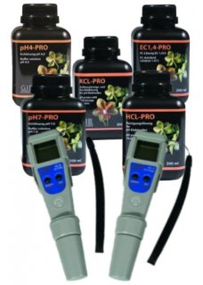 pH- und EC-Tester Set ADWA Waterproof