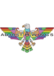 Adjust-A-Wings Reflektor white Defender Large