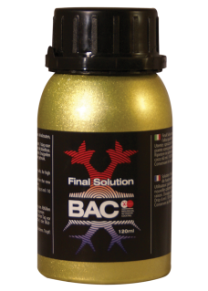 BAC Organic Final Solution 120ml
