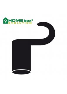 HOMEbox Spare Parts Plastikhaken lang 22mm