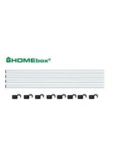 Homebox Fixture Poles Stangen Set 150cm 22mm