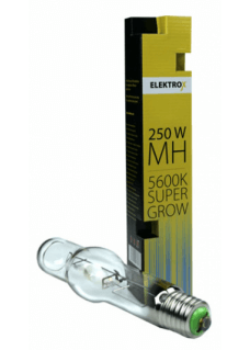 250W Elektrox Super Grow MH Wuchs