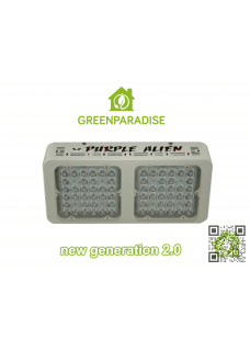 Purple Alien LED new generation 2.0 Osram 64x3W 125Watt mit optischen Linsen
