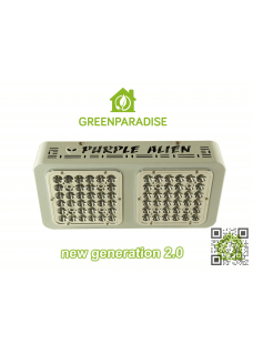 Purple Alien LED new generation 2.0 Osram 64x3W 125Watt mit Reflektoren