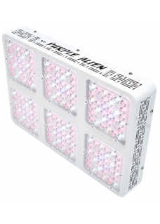 Purple Alien LED new generation 2.0 Bridgelux 192x3W 375Watt mit optischen Linsen