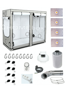 HOMEbox Ambient R240 LED 440W Grow Set TC