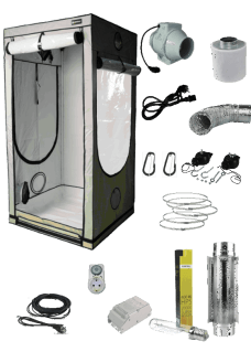 Homebox Q100 Cool Grow Set 400W Basic